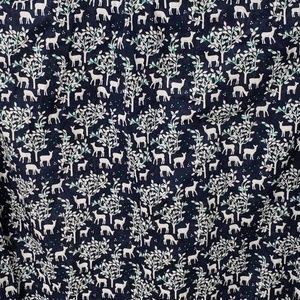 J. Crew Tops - J. Crew Pop-Over Deer Print Long Sleeve